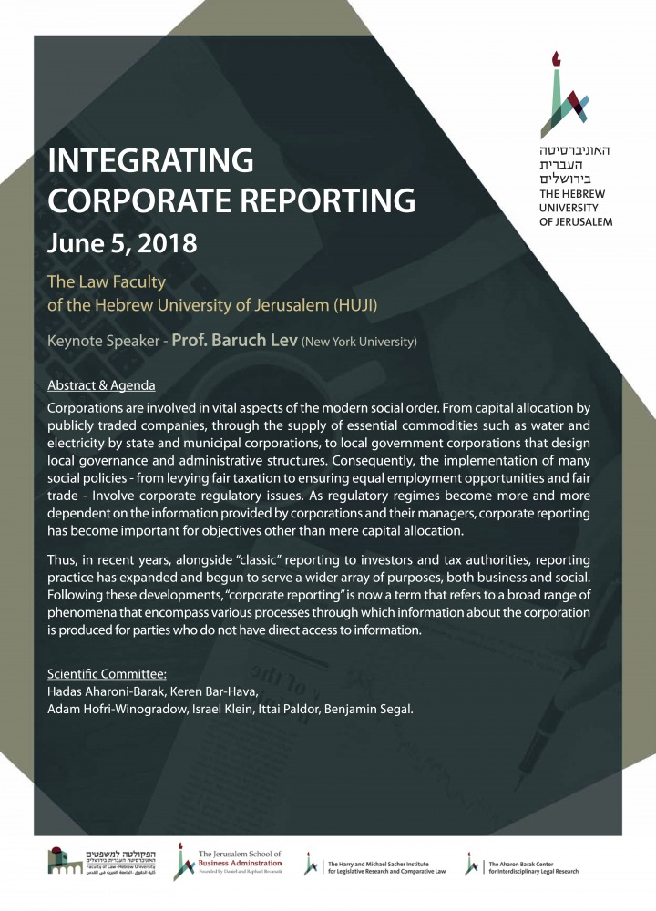 Integrating Corporate Reporting